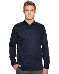 Ted Baker - Marsay Long Sleeve Plain Stretch Shirt - Lyst