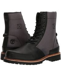 Timberland | Ltd Leather Fabric Boot | Lyst