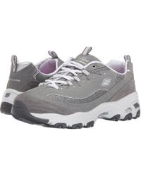 f013c8798e87 Lyst - Skechers Agility- Free Time Shoes in Gray