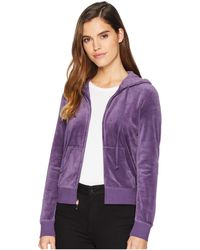 7bd1a0d77aec Lyst - Juicy Couture Girl Velour Robertson Jacket