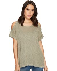 B Collection By Bobeau - Top Knit Cold Shoulder - Lyst