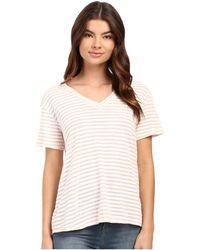 Culture Phit - Lia V-neck Short Sleeve T-shirt - Lyst