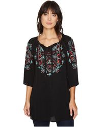 Scully - Cantata Embroidered Tunic - Lyst
