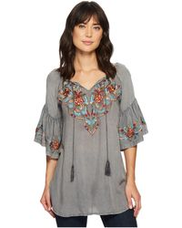Scully - Docia Embroidered Top - Lyst