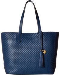 Cole Haan - Woven Leather Payson Tote - Lyst
