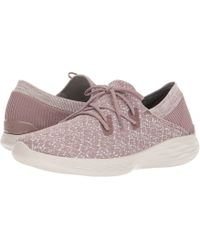 c0dcec8d4f49 Lyst - Skechers You - Exhale in Pink
