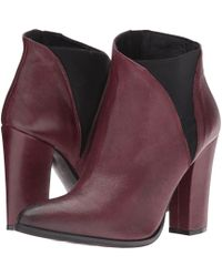 a032c9f5e282 Lyst - Charles David Charla Bootie in Black
