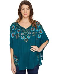 Scully | Dance Embroidered Top | Lyst