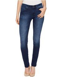 Mavi Jeans - Alexa Mid-rise Skinny In Deep Shanti - Lyst