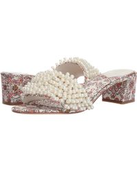 d4988432288 Lyst - Tory Burch Tatiana 45mm Embellished Slip-on Sandals