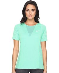 Nike - Zonal Cooling Relay Short Sleeve Running Top - Lyst