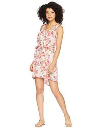Stetson 1752 Floral Herringbone (pink) Dress