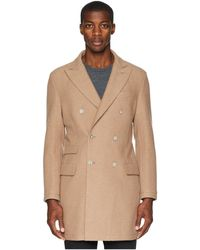 99211d74361 Lyst - Jos. A. Bank Reserve Collection Tailored Fit Cashmere Topcoat ...