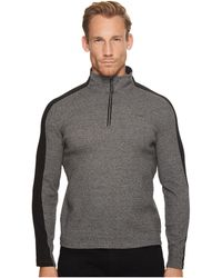 CALVIN KLEIN 205W39NYC - Color Blocked 1/4 Zip Knit - Lyst