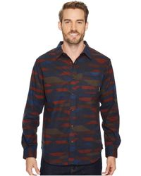 Columbia - Boulder Ridge Printed Long Sleeve Shirt - Lyst