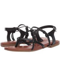 2f830497dbb7 Lyst - COACH Dannie Sandal in Metallic