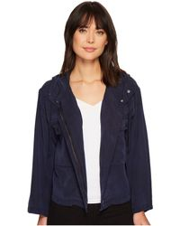 Two By Vince Camuto - Bell Sleeve Relaxed Hooded Crop Jacket - Lyst