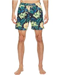 Scotch & Soda - Medium Length Swim Shorts In Cotton/nylon Quality With All Over - Lyst