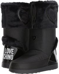 Love Moschino - Moon Boots - Lyst