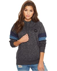 RVCA - Motors Patch Hooded Pullover - Lyst