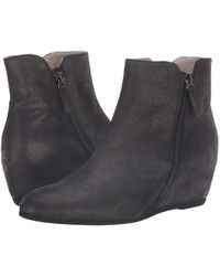 French Sole - Magic Wedge Bootie - Lyst