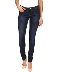 Mavi Jeans - Alexa Mid-rise Skinny In Rinse Indigo Tribeca - Lyst