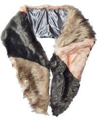 Michael Stars - Faux-real Faux Fur Scarf - Lyst