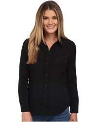 NYDJ - Fit Solution Ruffle Front Blouse - Lyst