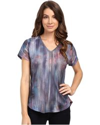 XCVI - Movement By Perfect V Top - Lyst
