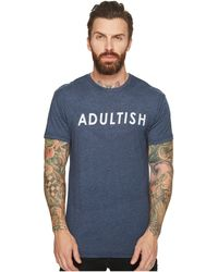 The Original Retro Brand - Adultish Heathered Tee - Lyst