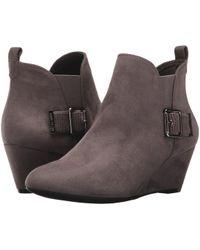 Anne Klein - Anni Fabric Ankle Boot - Lyst