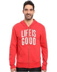 Life Is Good. - ® Go-to Zip Hoodie - Lyst