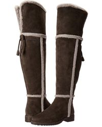 Frye | Tamara Shearling Over The Knee | Lyst