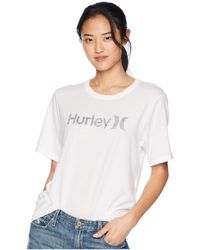 Hurley - One And Only Solid Perfect Short Sleeve Crew - Lyst