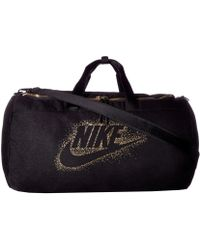 Nike - Metallic Duffel - Lyst