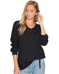 Bishop + Young - Jessie Lace-up Sweater - Lyst