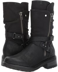 34c5418334d Lyst - Kendall + Kylie Sawyer Suede Over-the-knee Boots in Gray