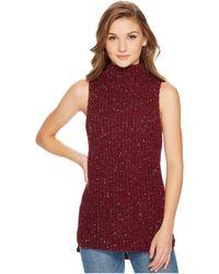 Kensie - Twisted Slub Sleeveless Sweater Ksnk5760 - Lyst