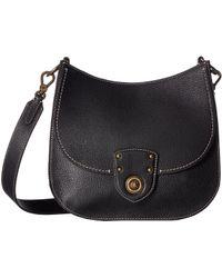 Lyst - Lauren by Ralph Lauren Millbrook Belt Bag (field Brown orange ... d7afc2c31ddb7