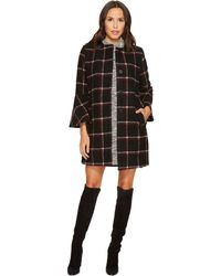 BB Dakota - Hewes Plaid Coat With Bell Sleeves - Lyst