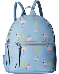 T-Shirt & Jeans - All Over Flamingo Backpack - Lyst