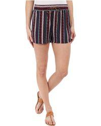 Splendid - Beachcomber Stripe Shorts - Lyst