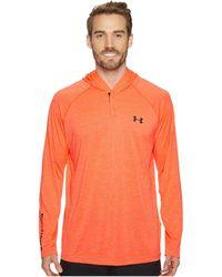 Under Armour - Ua Techtm Popover Henley - Lyst