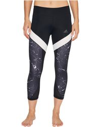 Adidas   Marble Ultimate 3/4 Tights   Lyst