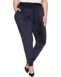 Hue - Plus Size Velour Track Pants - Lyst