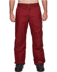 Columbia - Big & Tall Bugabootm Ii Pant - Lyst