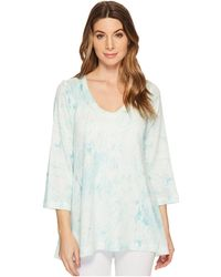 Nally & Millie - Light Green Marble Print Tunic - Lyst