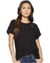 Lucky Brand - Cut Out Tee - Lyst