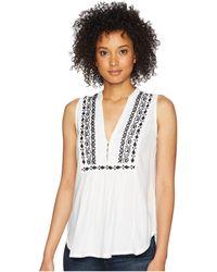 Roper - 1767 Rayon Challis (white) Women's Clothing - Lyst