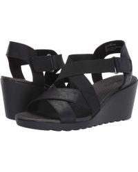 White Mountain Footwear - Esther Wedge Sandal - Lyst